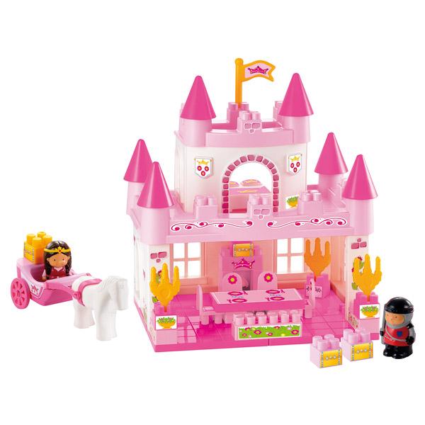 Palais princesse abrick ecoiffier king jouet lego for Palais princesse playmobil