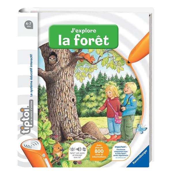 Tiptoi J'explore la forêt