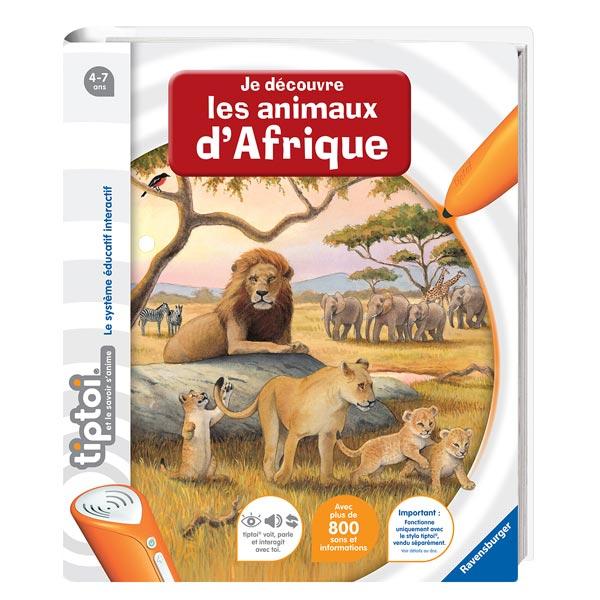 Tiptoi Je découvre les animaux d'Afrique