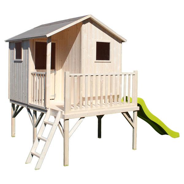 Maisonnette bois sixtine soulet king jouet maisons tentes et autres soulet sport et jeux - Maisonnette en bois leclerc ...