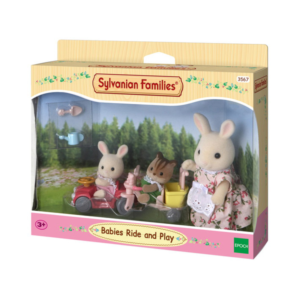 sylvanian tricycle minivoiture b b sylvanian families. Black Bedroom Furniture Sets. Home Design Ideas