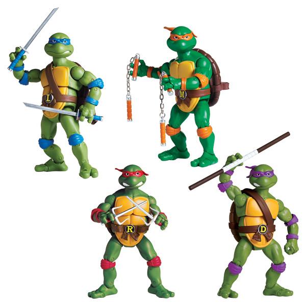 Figurine tortue ninja 16 cm for Repere des tortue ninja