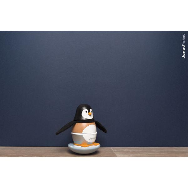 Pingouin Zigolos D'éveil JouetActivités JanodKing Culbuto SUzpqVM