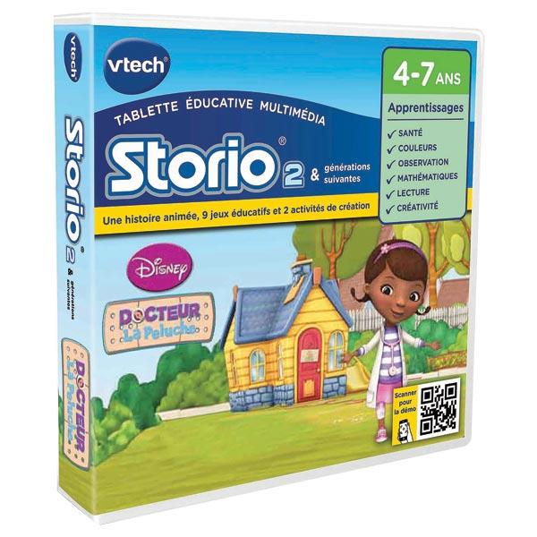 jeu storio 2 docteur la peluche vtech king jouet consoles de jeux vtech m diath que jeux. Black Bedroom Furniture Sets. Home Design Ideas