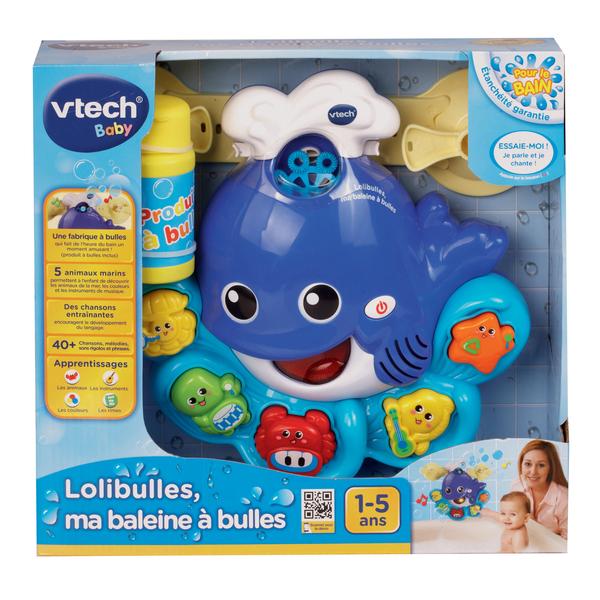 Jouet de bain - Lolibulles baleine à bulles