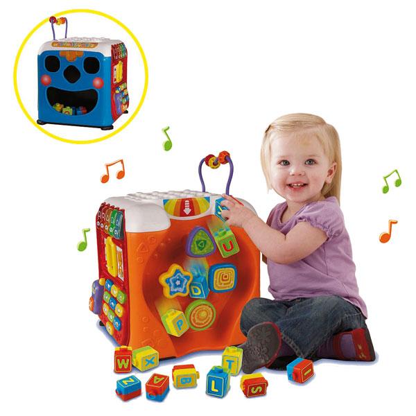 maxi cube multi activit s vtech king jouet activit s d 39 veil vtech jeux d 39 veil. Black Bedroom Furniture Sets. Home Design Ideas
