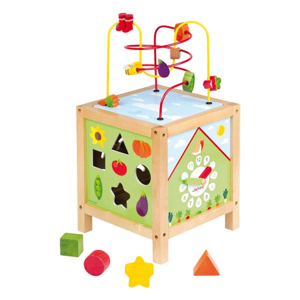 cube maxi looping jardin de janod. Black Bedroom Furniture Sets. Home Design Ideas