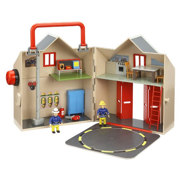sam grande caserne de pompiers ouaps king jouet h ros. Black Bedroom Furniture Sets. Home Design Ideas