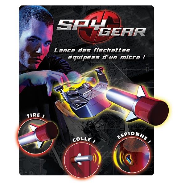 spy gear lance micro espion spy gear king jouet faire comme les grands spy gear jeux d. Black Bedroom Furniture Sets. Home Design Ideas