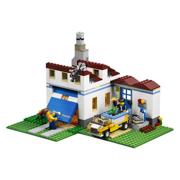 plan de construction d'une maison en lego