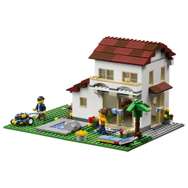 31012 la maison de famille lego king jouet lego - Maison de famille meubles ...