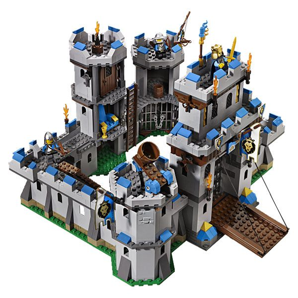 70404 ch teau fort lego king jouet lego planchettes. Black Bedroom Furniture Sets. Home Design Ideas