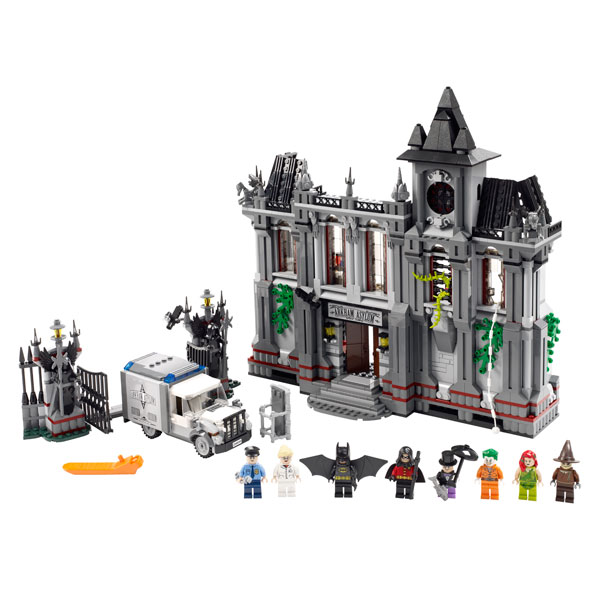 10937 batman l 39 vasion de l 39 asile d 39 arkham lego king - Batman playmobil ...