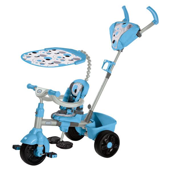 little tikes tricycle sport 4 en 1 bleu de little tikes. Black Bedroom Furniture Sets. Home Design Ideas
