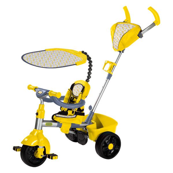 little tikes tricycle sport 4 en 1 jaune little tikes. Black Bedroom Furniture Sets. Home Design Ideas
