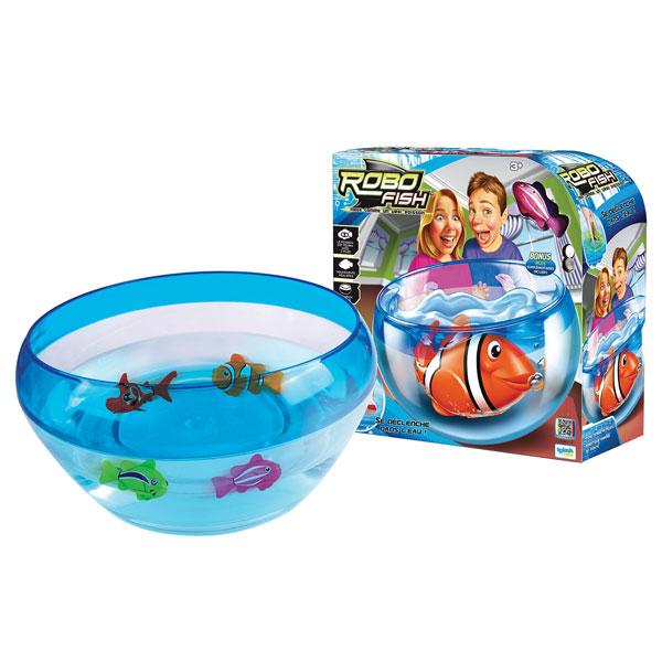 Aquarium robo fish pirate de splash toys for Robo fish tank