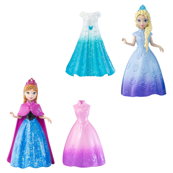 princesse et robe magiclip disney princesses elsa de mattel. Black Bedroom Furniture Sets. Home Design Ideas