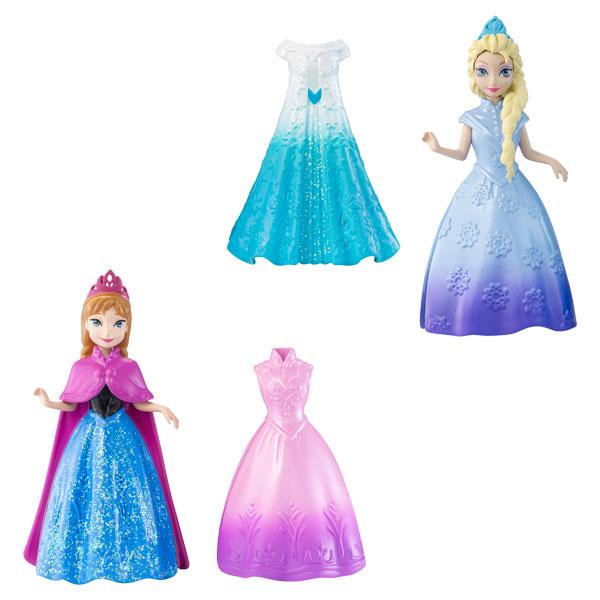 princesse et robe magiclip la reine des neiges assortiment mattel king jouet poup es mattel. Black Bedroom Furniture Sets. Home Design Ideas