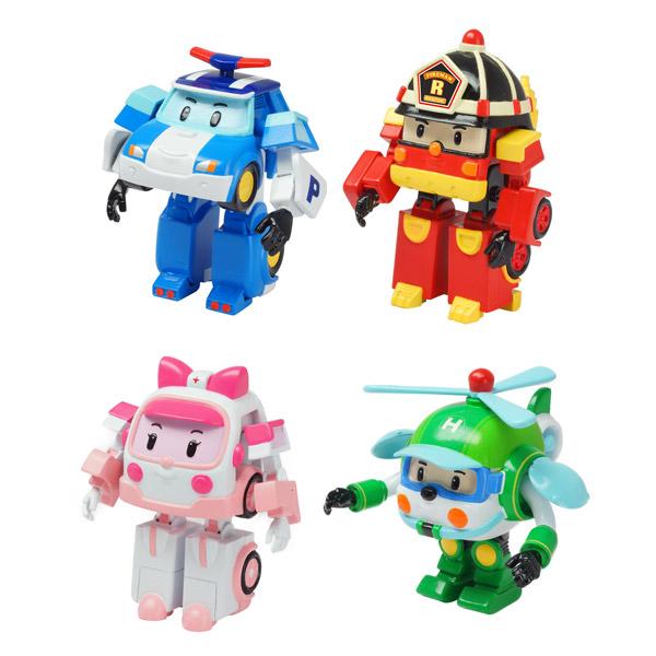 Robocar poli figurines 8 cm ouaps king jouet figurines - Personnage robocar poli ...