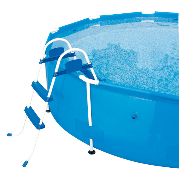 Echelle piscine autoportante logitoys king jouet for Piscine autoportante
