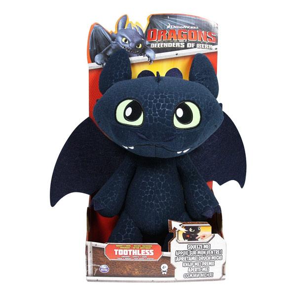 Peluche interactive Dragons Krokmou