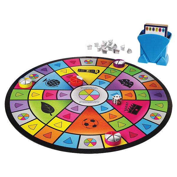 trivial pursuit party game. Black Bedroom Furniture Sets. Home Design Ideas