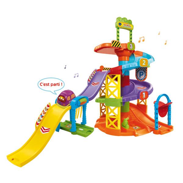 Mon parking toboggan vtech king jouet activit s d 39 veil vtech jeux d 39 veil - Toboggan king jouet ...