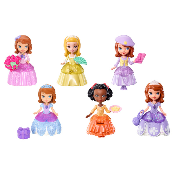 mini personnage disney princesse sofia mattel king jouet poup es mattel poup es peluches. Black Bedroom Furniture Sets. Home Design Ideas