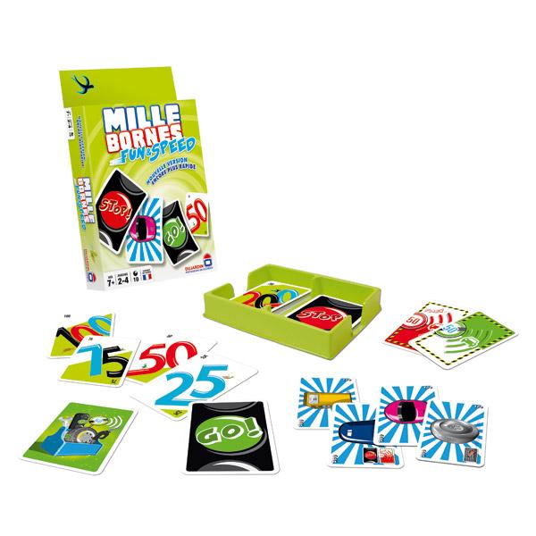 jeu 1000 bornes fun et speed dujardin king jouet jeux de cartes dujardin jeux de soci t. Black Bedroom Furniture Sets. Home Design Ideas