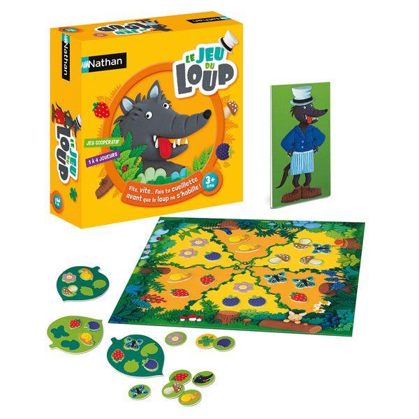 Le jeu du loup nathan jeux king jouet jeux de hasard et - Parcours du combattant jeu ...