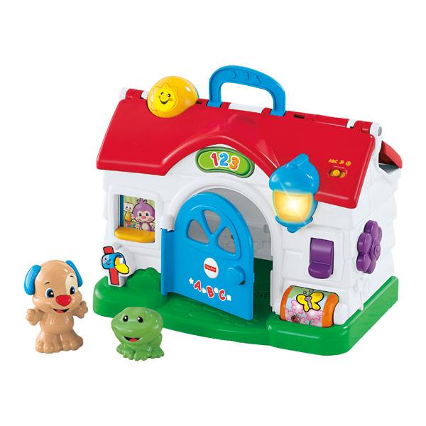 la maison de puppy fisher price king jouet activit s d. Black Bedroom Furniture Sets. Home Design Ideas