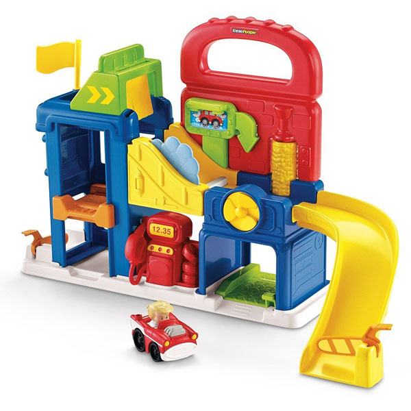 Fisher price little people garage fisher price spielset for Garage a persan