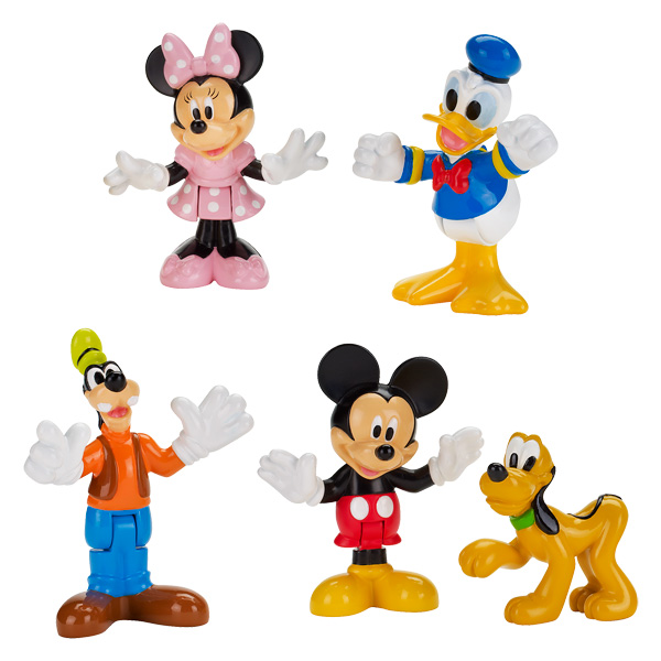 figurine personnage mickey. Black Bedroom Furniture Sets. Home Design Ideas