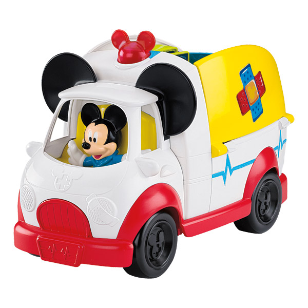le camion mickey premiers secours de fisher price friends. Black Bedroom Furniture Sets. Home Design Ideas