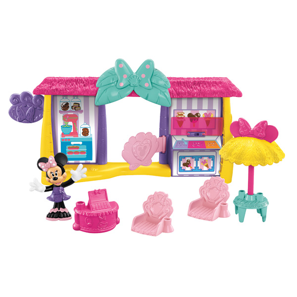 coffret minnie la boutique de la plage de fisher price. Black Bedroom Furniture Sets. Home Design Ideas