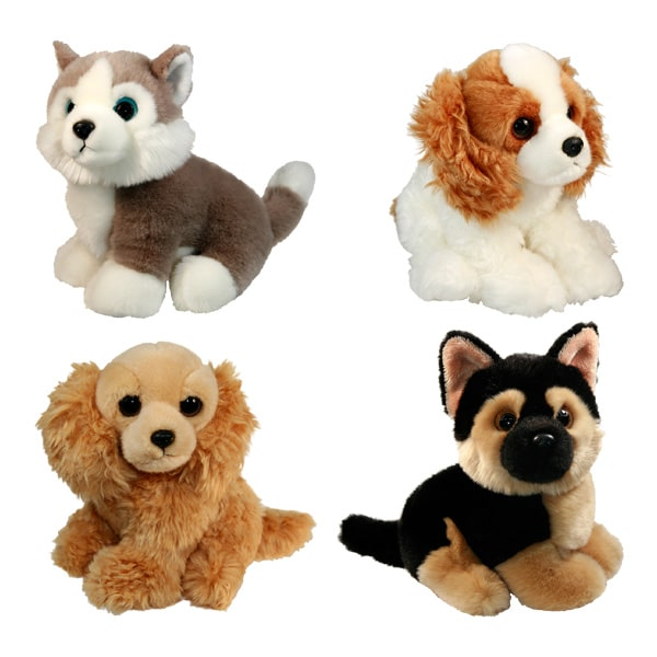 peluche chien 23 cm ami plush king jouet peluches ami plush poup es peluches. Black Bedroom Furniture Sets. Home Design Ideas