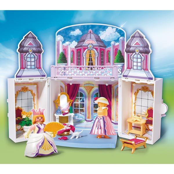 5419 coffre princesse de playmobil for Playmobil chambre princesse