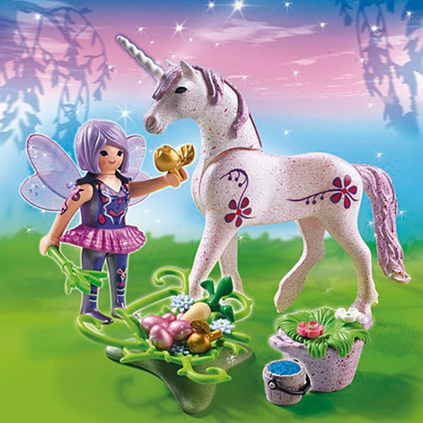 5440 fe cuisinire avec licorne violette
