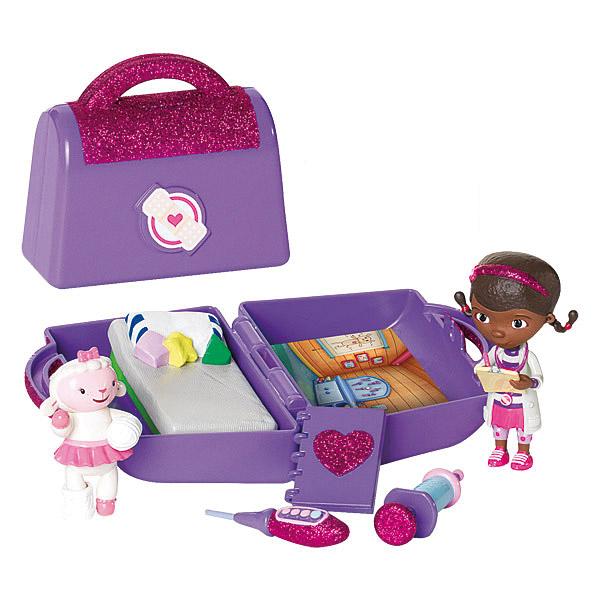 Docteur la peluche mini mallette et accessoires giochi king jouet figurines et cartes - Docteur la peluche malette ...