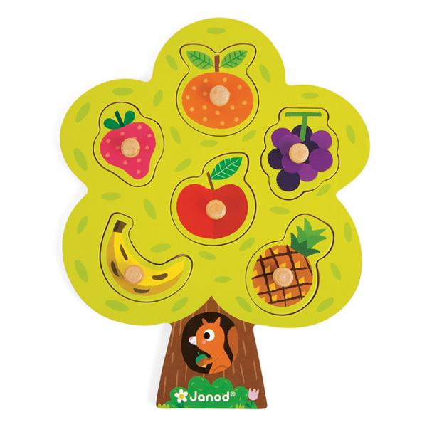 Puzzle arbre gourmand 6 pièces