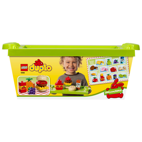 duplo 10566 panier picnic lego king jouet 1er age lego. Black Bedroom Furniture Sets. Home Design Ideas