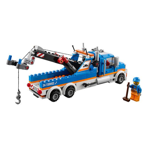 60056 remorqueuse de camions de lego. Black Bedroom Furniture Sets. Home Design Ideas