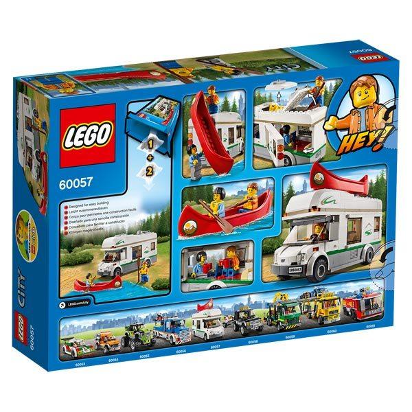 60057 le camping car et son cano lego king jouet lego planchettes autres lego jeux de. Black Bedroom Furniture Sets. Home Design Ideas