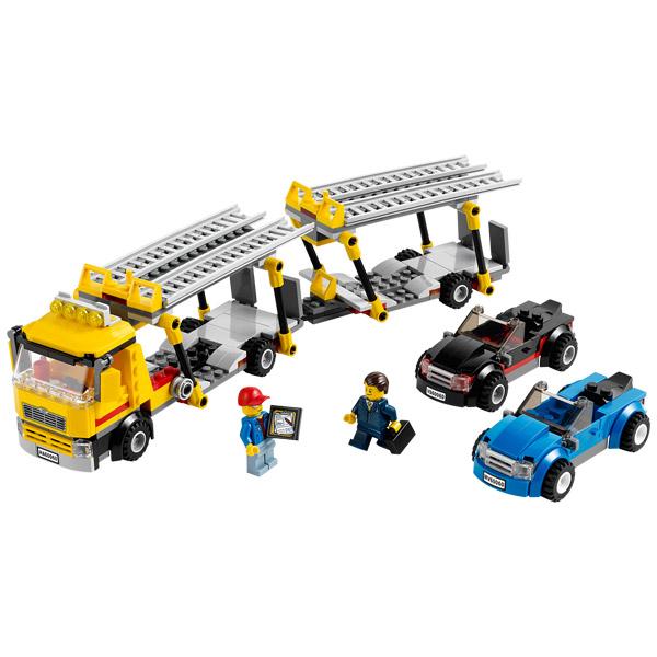 60060 le camion de transport des voitures lego king. Black Bedroom Furniture Sets. Home Design Ideas
