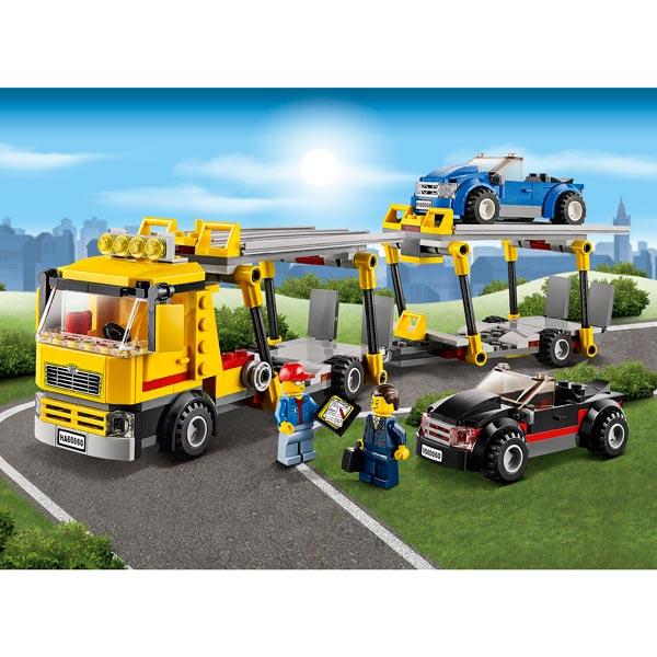 60060 le camion de transport des voitures lego king jouet lego planchettes autres lego. Black Bedroom Furniture Sets. Home Design Ideas