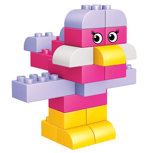 Mega Bloks Junior Builders  Baril 100 pièces Mini  Achat / Vente assemblage