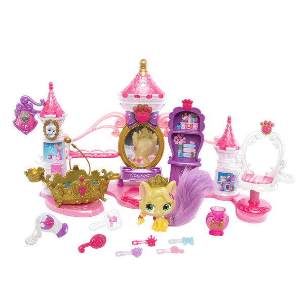 playset ch teau spa palace pets spin master king jouet. Black Bedroom Furniture Sets. Home Design Ideas