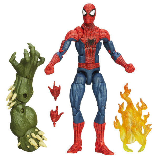 Spiderman  assortiment figurine web slingers  hasb1252 Hasbro La Redoute