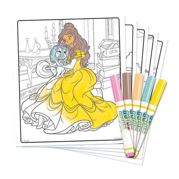 kit coloriage color wonder princesse palace pets crayola. Black Bedroom Furniture Sets. Home Design Ideas