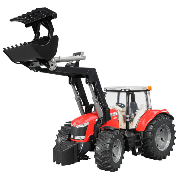 Tracteur Massey Ferguson 7600 + Chargeur Frontal